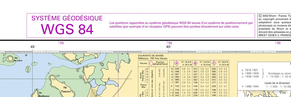 Système géodésique WGS84