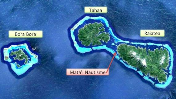 Mata'i Nautisme à Raiatea