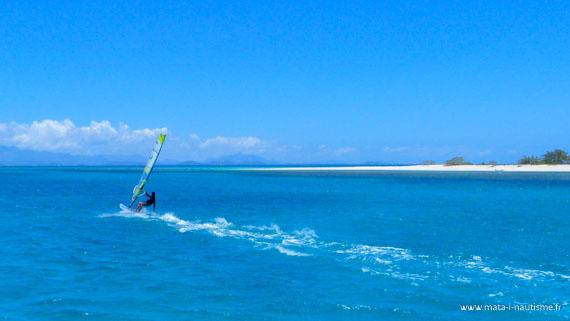 Pat windsurf Nouvelle Calédonie