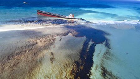 Naufrage du Wakashio et marée noire