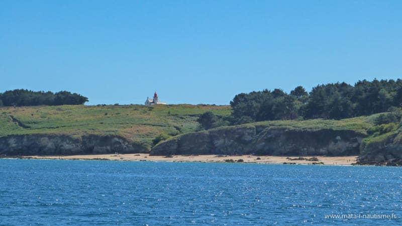 Pointe sud de Belle Île