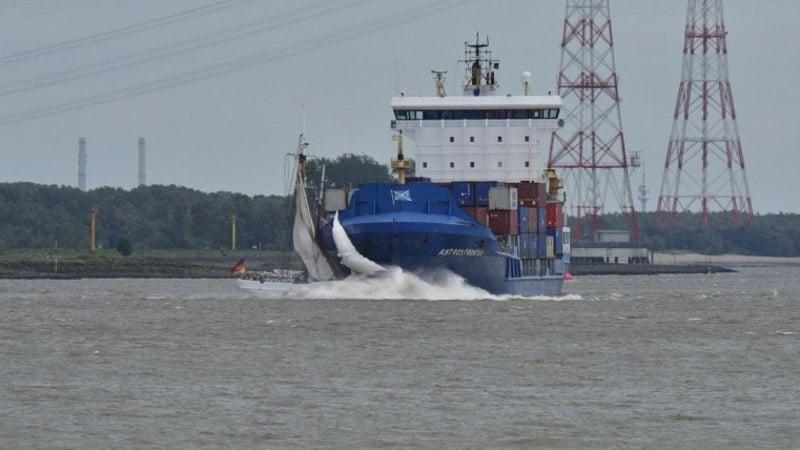 Collision voilier Elbe Nr 5