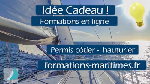 Idée cadeau - Formations nautiques en ligne